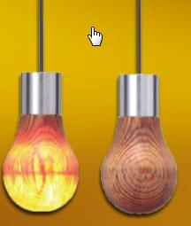 Leuchtendes Holz