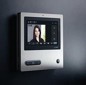 Design Video Sprechstelle innen Wandgerät