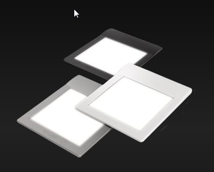extrem flache LED OLED