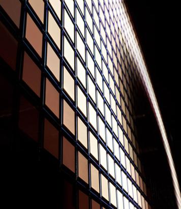 interaktive OLED Wände