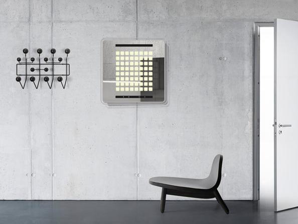 interaktiver OLED Lichtspiegel
