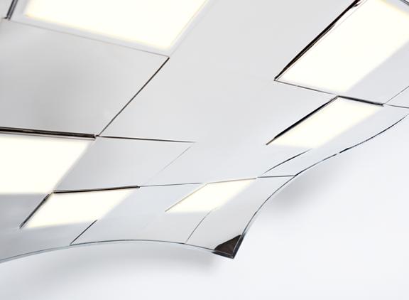 OLED Design Hängeleuchte
