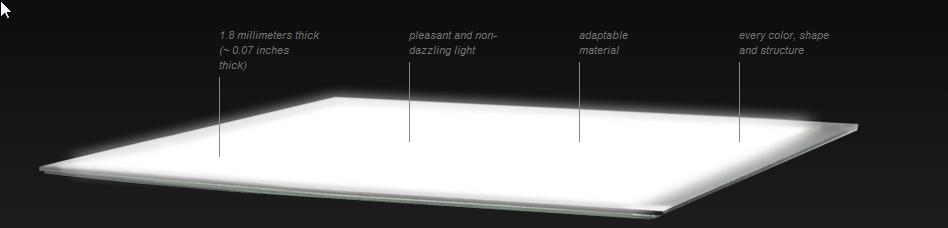OLED Lumiblade