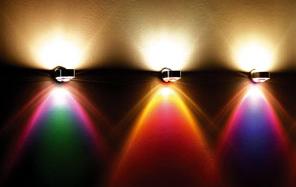 Puk leuchten farbiges Licht
