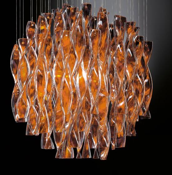 Deckenleuchte Aura Orange