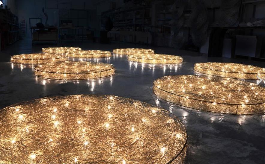 Dischi Sonderleuchten aus Metall