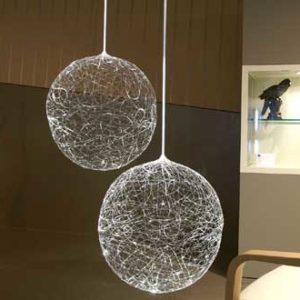 Kugelleuchten aus Lichtfaser