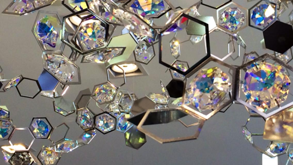 Kristall-Leuchten