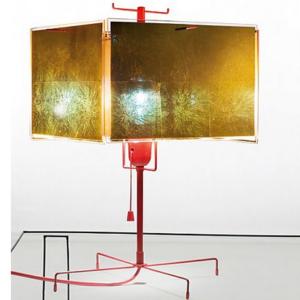 Blattgold Design Tischleuchte