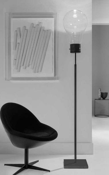 Bodenleuchte in Glühbirnen-Design.png
