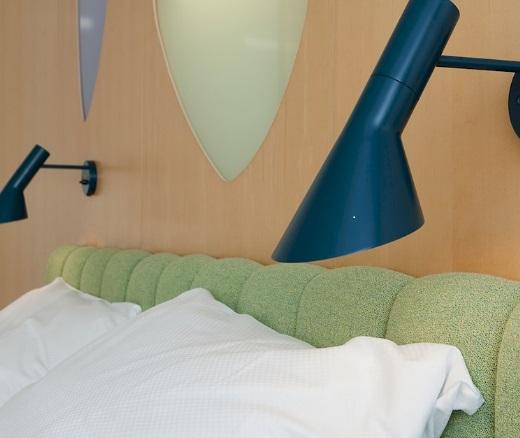 Designklassiker Wandleuchte mit schalter Bettbeleuchtung