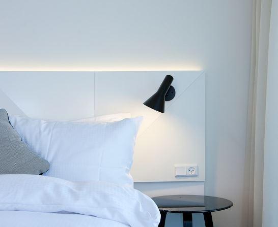 Designklassiker Wandleuchte mit schalter Nachttischbeleuchtung