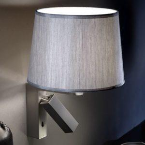 Vielseitige Wandlampe mit Schalter