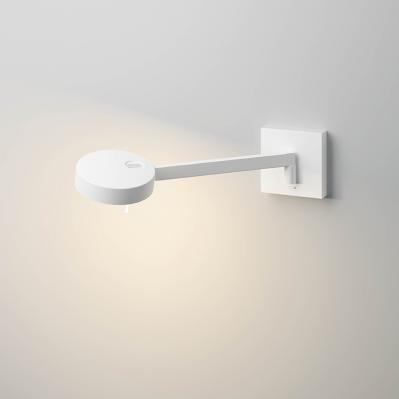 Wandlampe mit Schalter am Kopf
