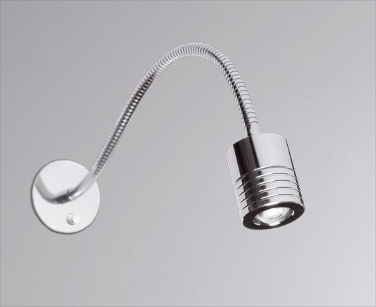 Flex Wandeinbauspot mit Schalter