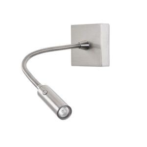 Flex Wandlampe mit Schalter im Kopf