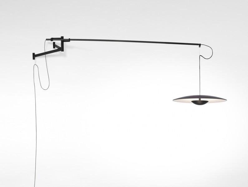 Wandlampe mit Schalter als Tischbeleuchtung