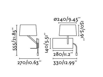 ausgefallene und innovative weisse wandlampe schaltbar. Black Bedroom Furniture Sets. Home Design Ideas