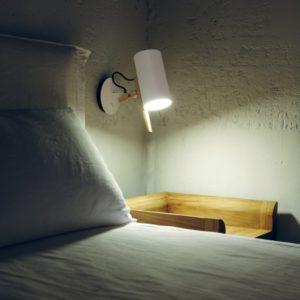 angenehme Wandlampe mit Schalter