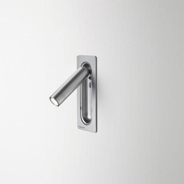 beweglicher Aluminium Wandstrahler schaltet beim einklappen 2