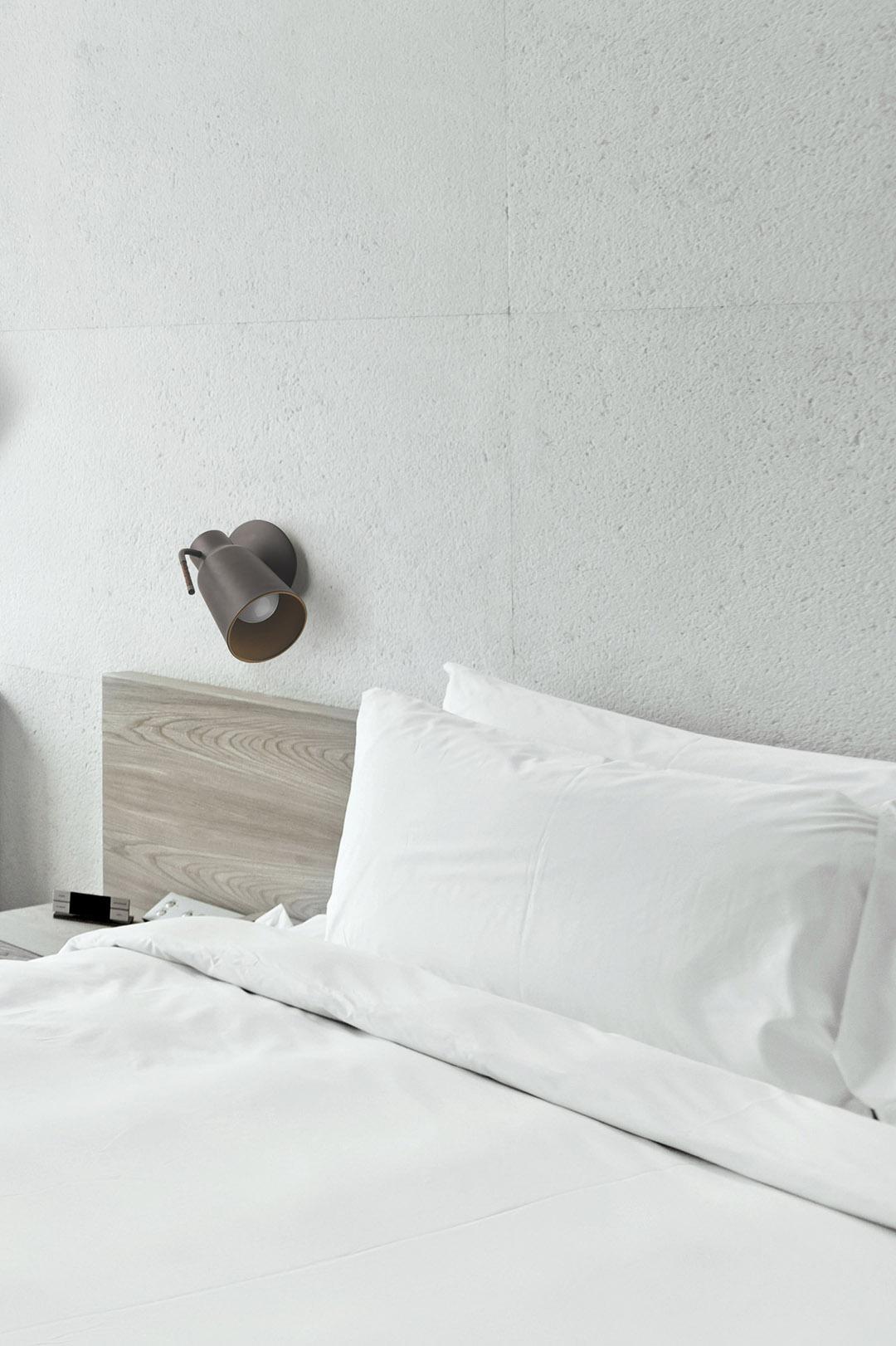 coole metall wandlampe mit schalter leuchte im industrie. Black Bedroom Furniture Sets. Home Design Ideas