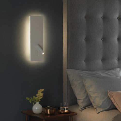 Designer Led Wand und Leselampe mit Schalter