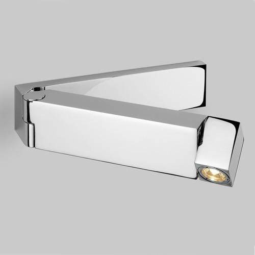 Faltbare LED Wandaufbauleuchte mit Schalter