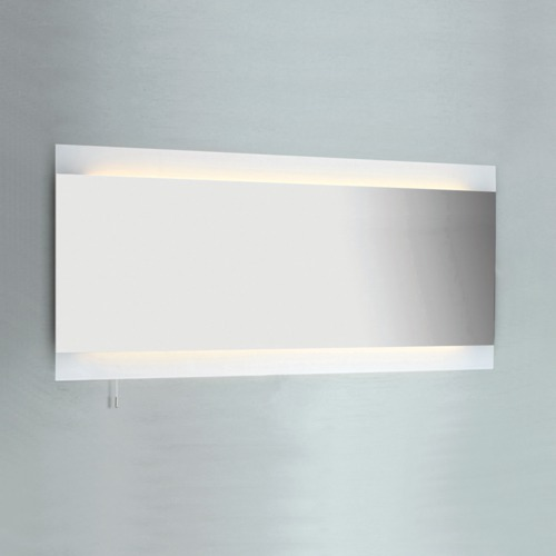 Gro er schmaler wandspiegel bad mit integrierter for Wandspiegel bad