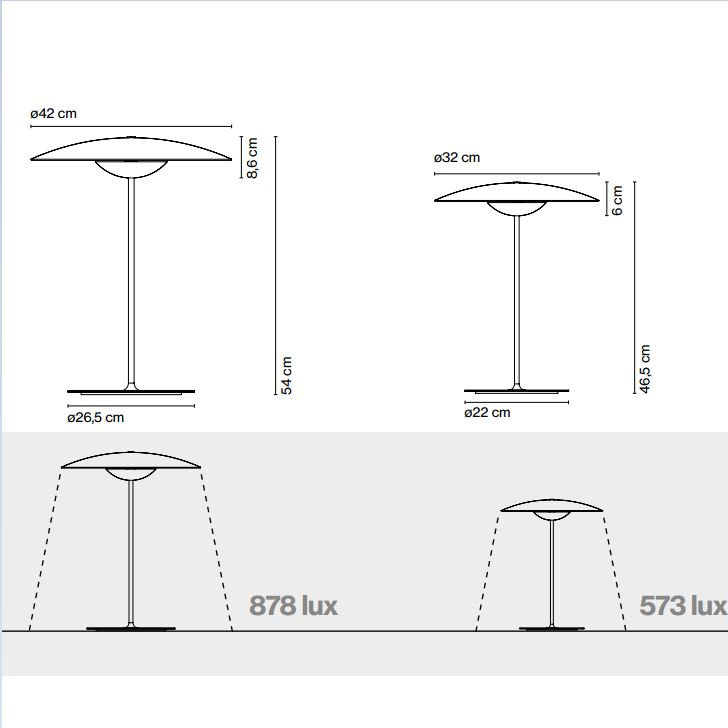 Masse moderne Holz Tischleuchte