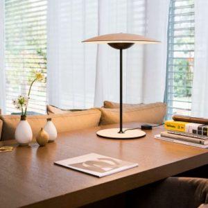 moderne Holz Tischleuchte