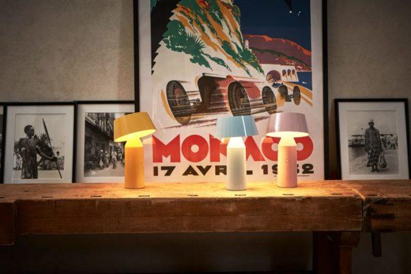 Farbefrohe Tisch Leseleuchten mit Magnet