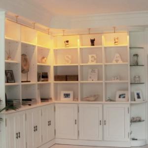 Individuelle Bücherschrank Beleuchtung