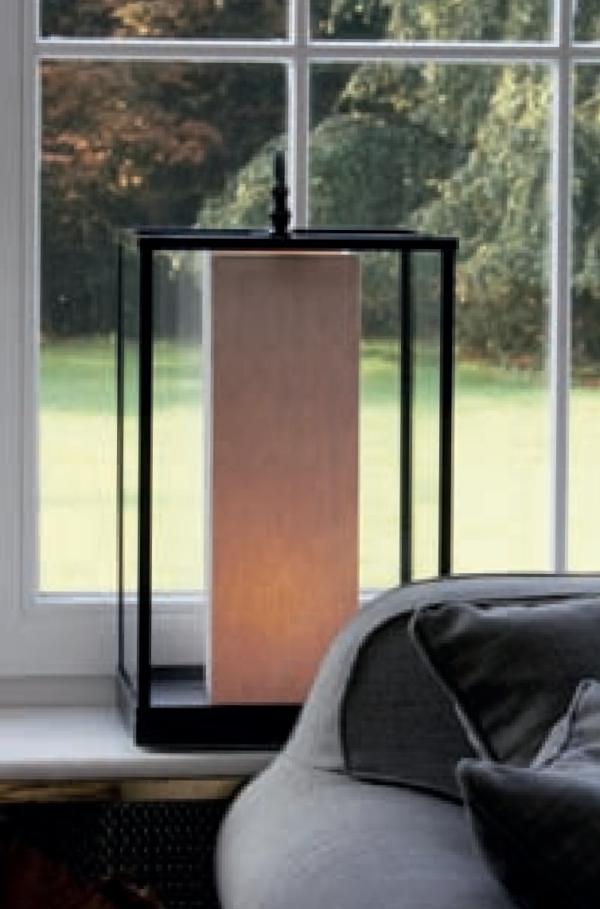 Moderne Landhaus Sidebordleuchte Bronze