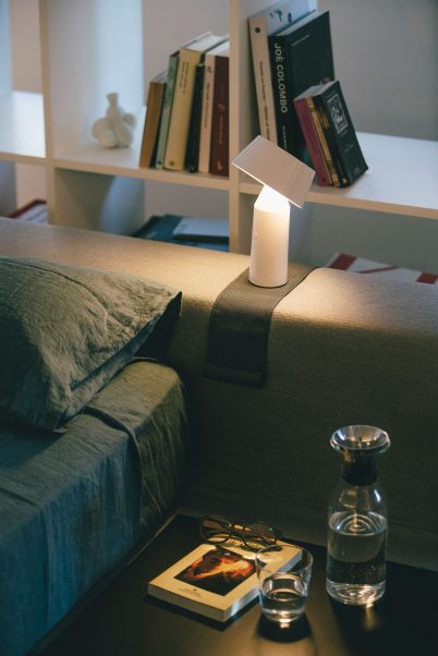 Sofa Leseleuchte mit Magnet
