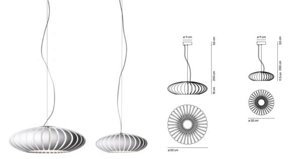 Spanische Design Hängeleuchte Maße